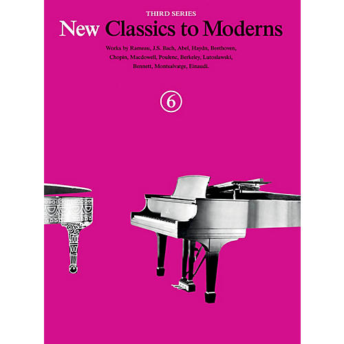 Music Sales New Classics to Moderns - Third Series (Book 6) Music Sales America Series Softcover thumbnail