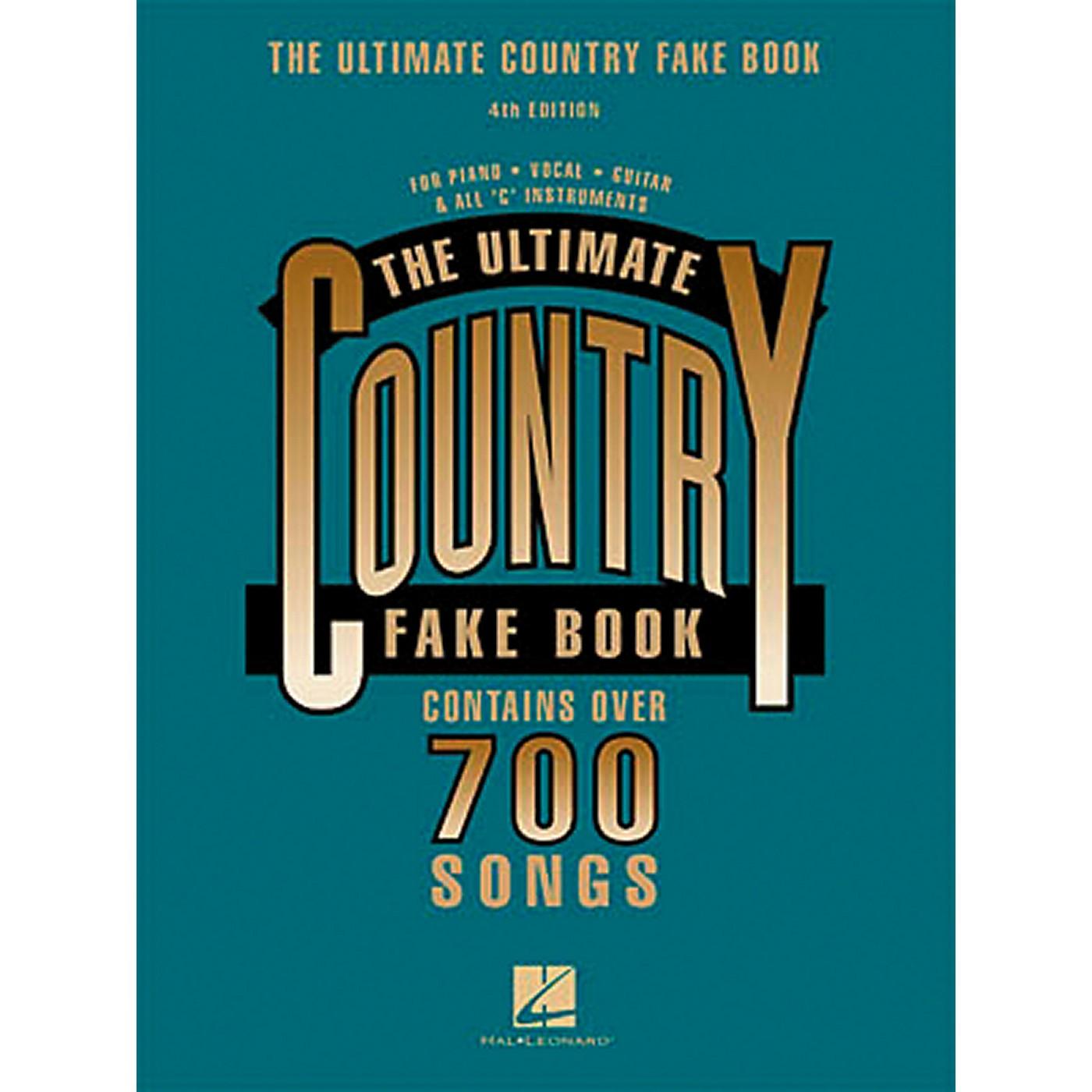 Hal Leonard New Country Fake Book thumbnail