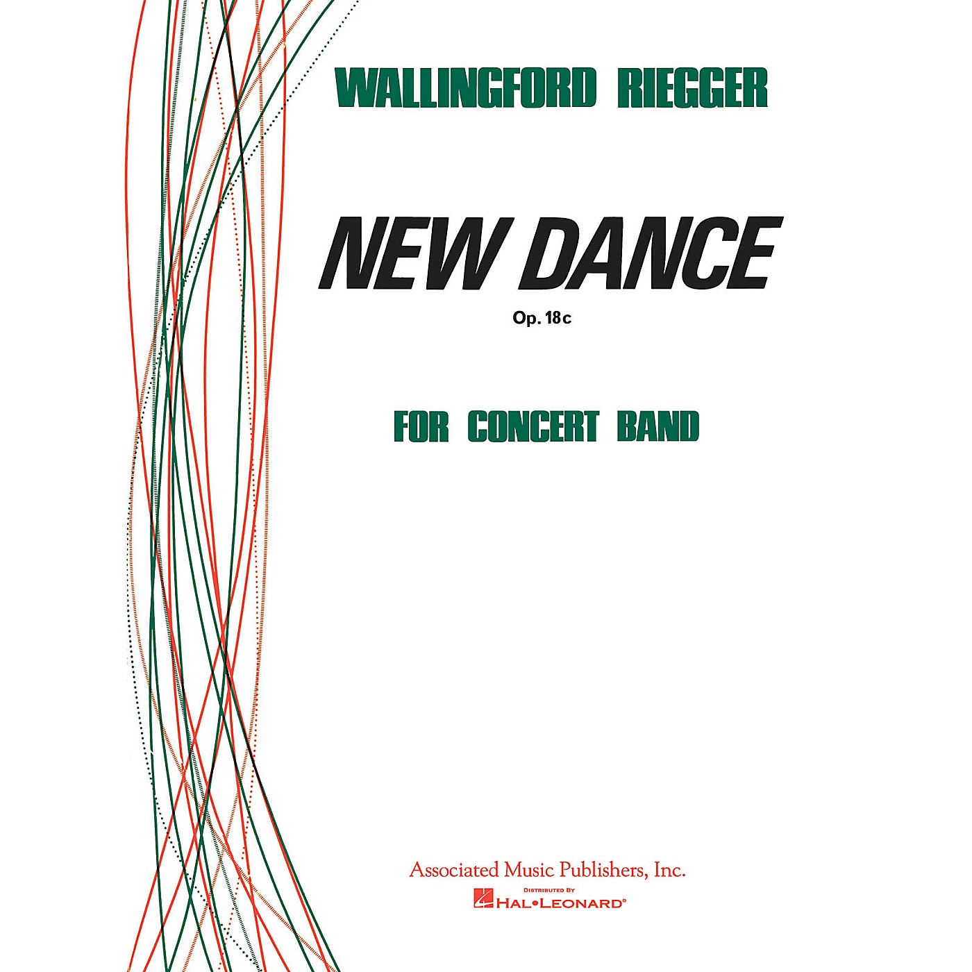 Associated New Dance (Score and Parts) Concert Band Level 4-5 Composed by Wallingford Riegger thumbnail