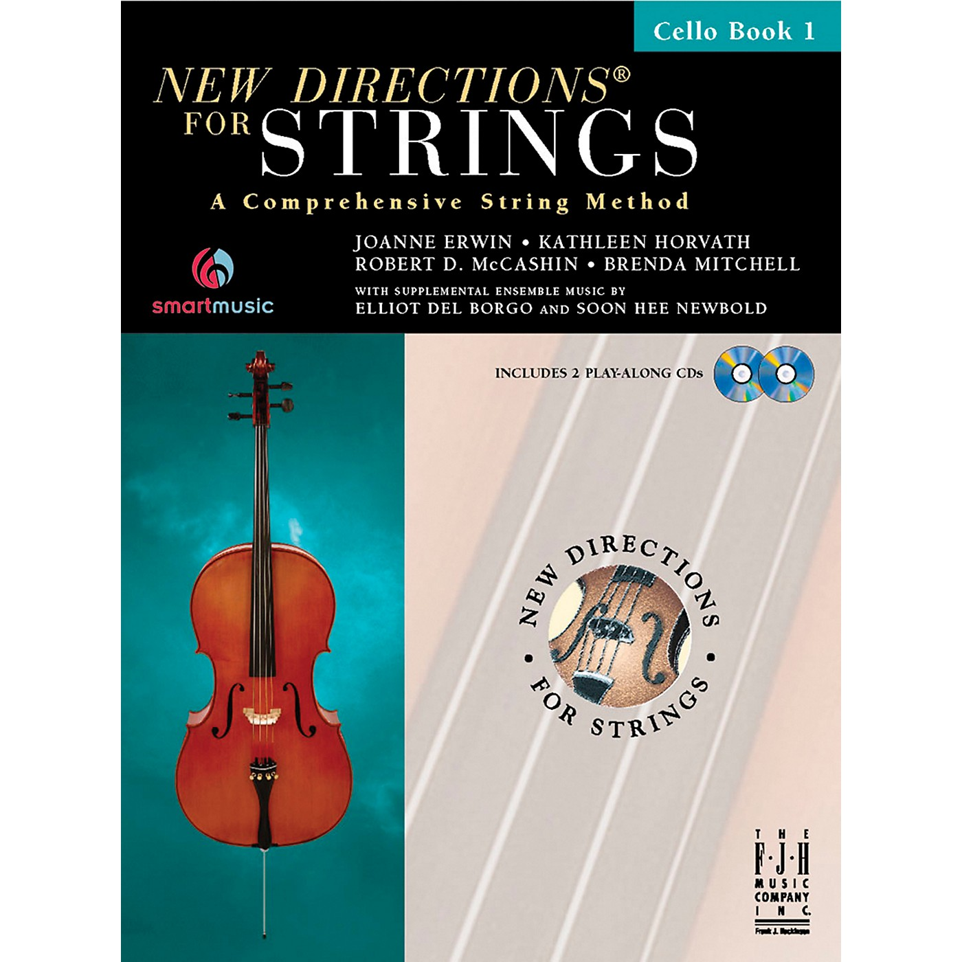 FJH Music New Directions For Strings, Cello Book 1 thumbnail