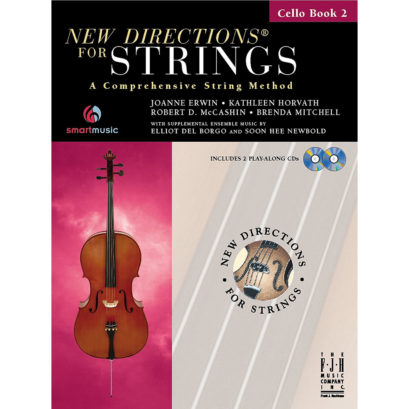 FJH Music New Directions For Strings, Cello Book 2 thumbnail