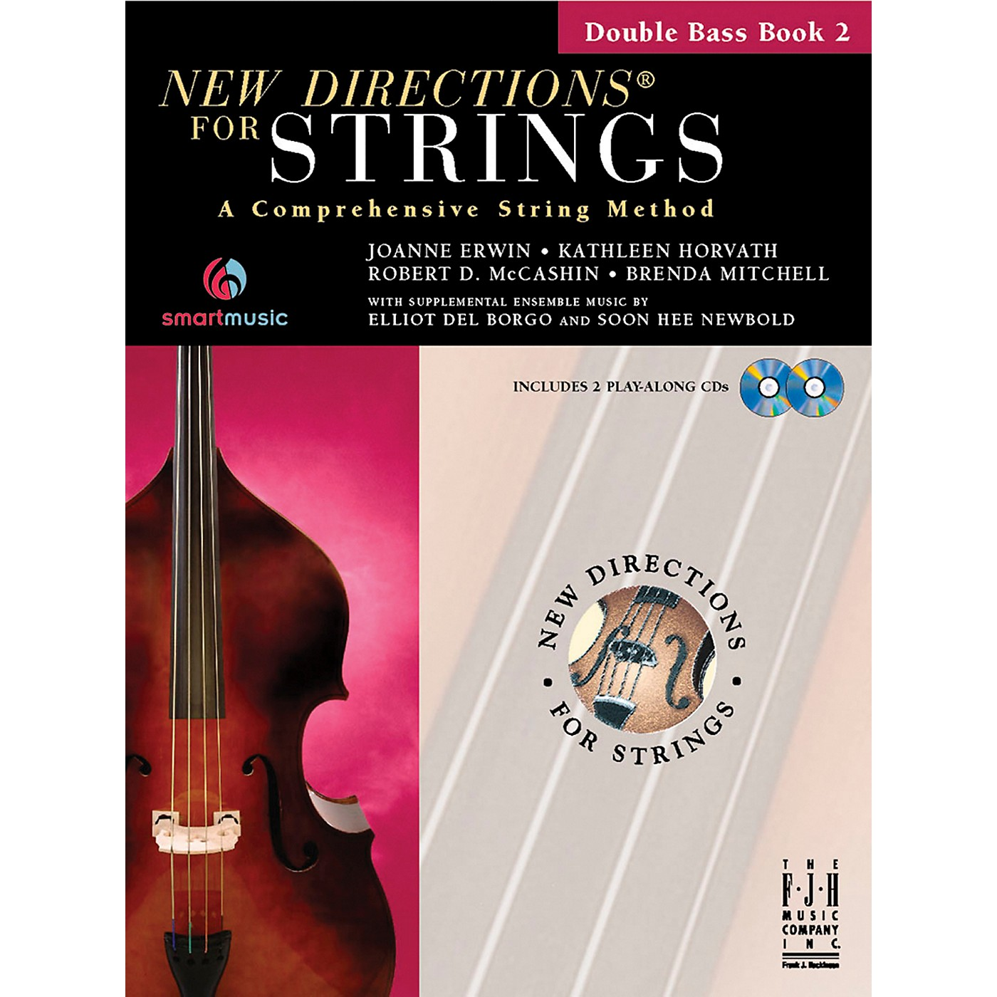 FJH Music New Directions For Strings, Double Bass Book 2 thumbnail