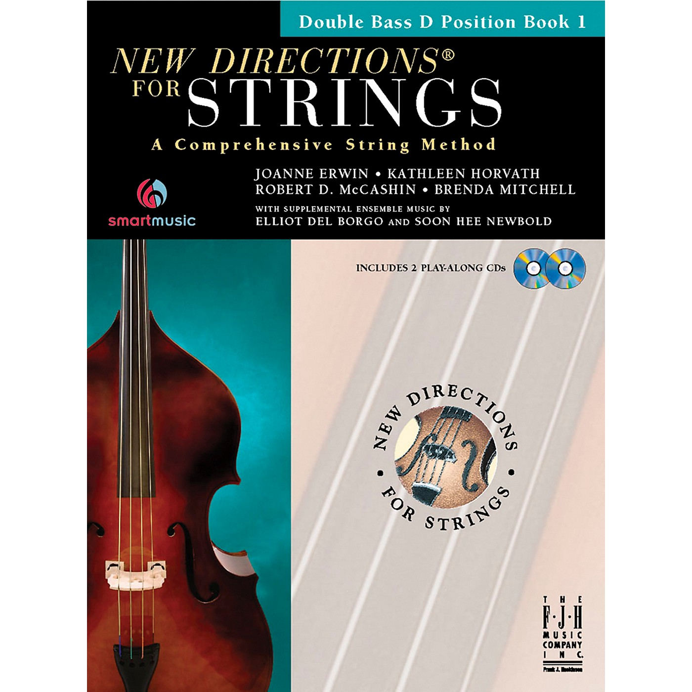 FJH Music New Directions For Strings, Double Bass D Position Book 1 thumbnail