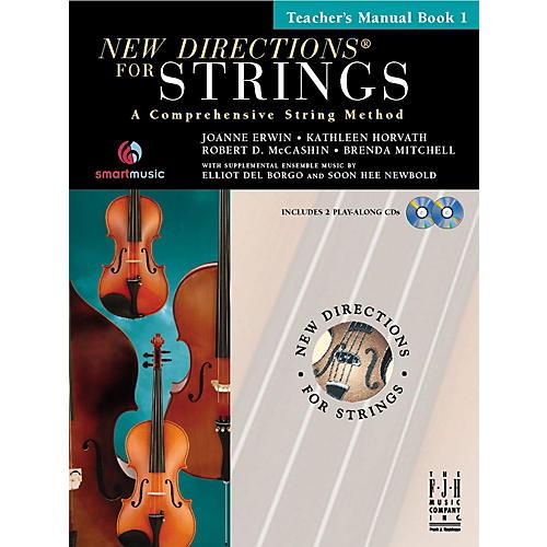 FJH Music New Directions For Strings, Teacher Manual Book 1 thumbnail