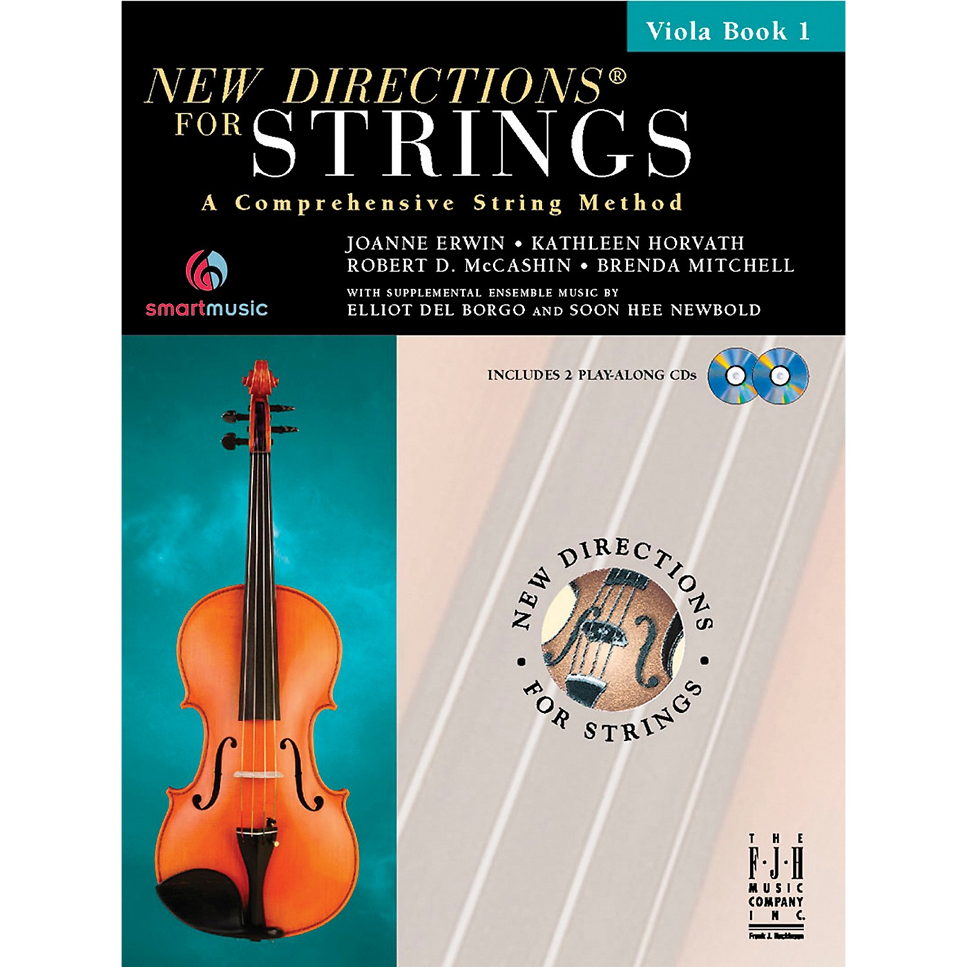 FJH Music New Directions For Strings, Viola Book 1 thumbnail