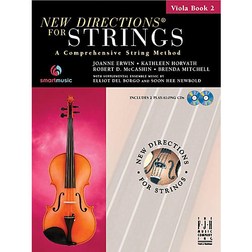 FJH Music New Directions For Strings, Viola Book 2 thumbnail