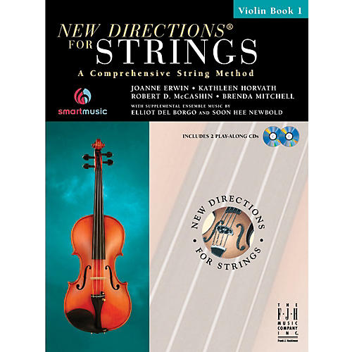FJH Music New Directions For Strings, Violin Book 1 thumbnail