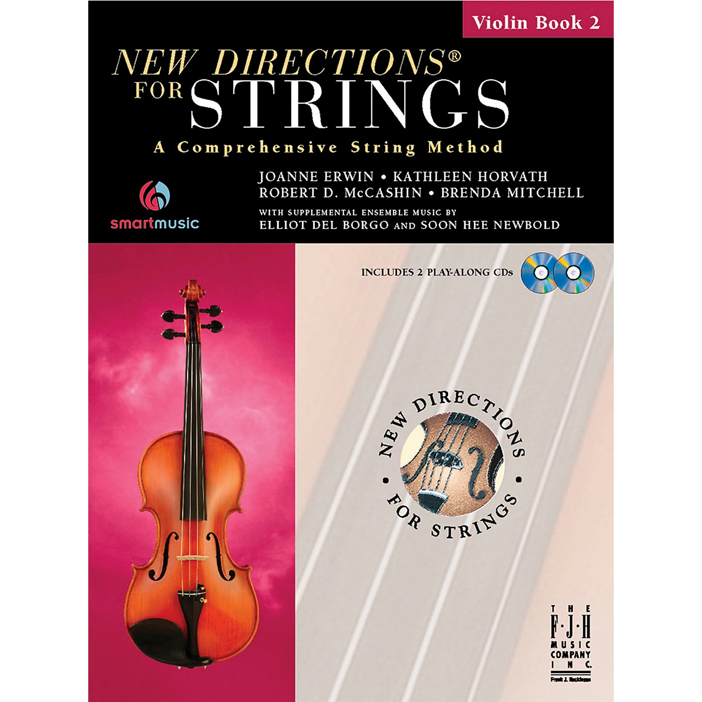 FJH Music New Directions For Strings, Violin Book 2 thumbnail