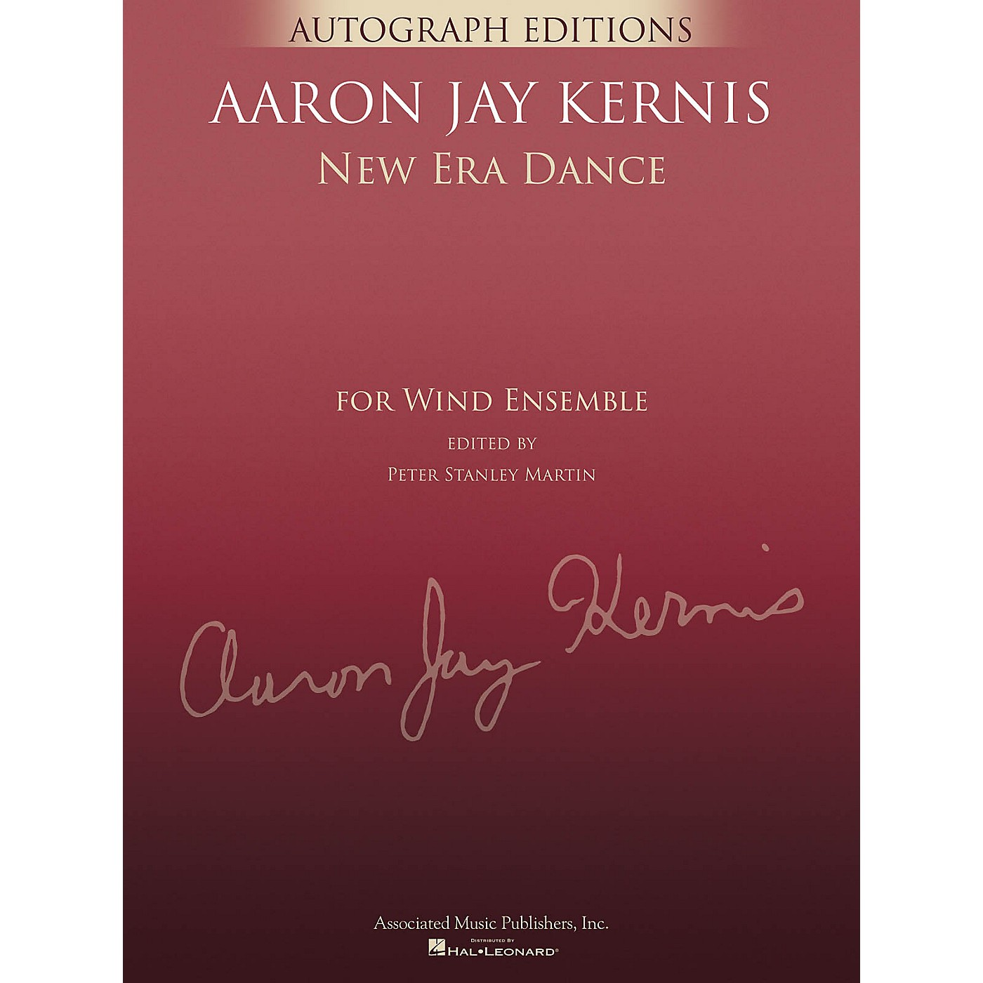 G. Schirmer New Era Dance (Autograph Editions - Full Score) Concert Band Level 5 Composed by Aaron Jay Kernis thumbnail