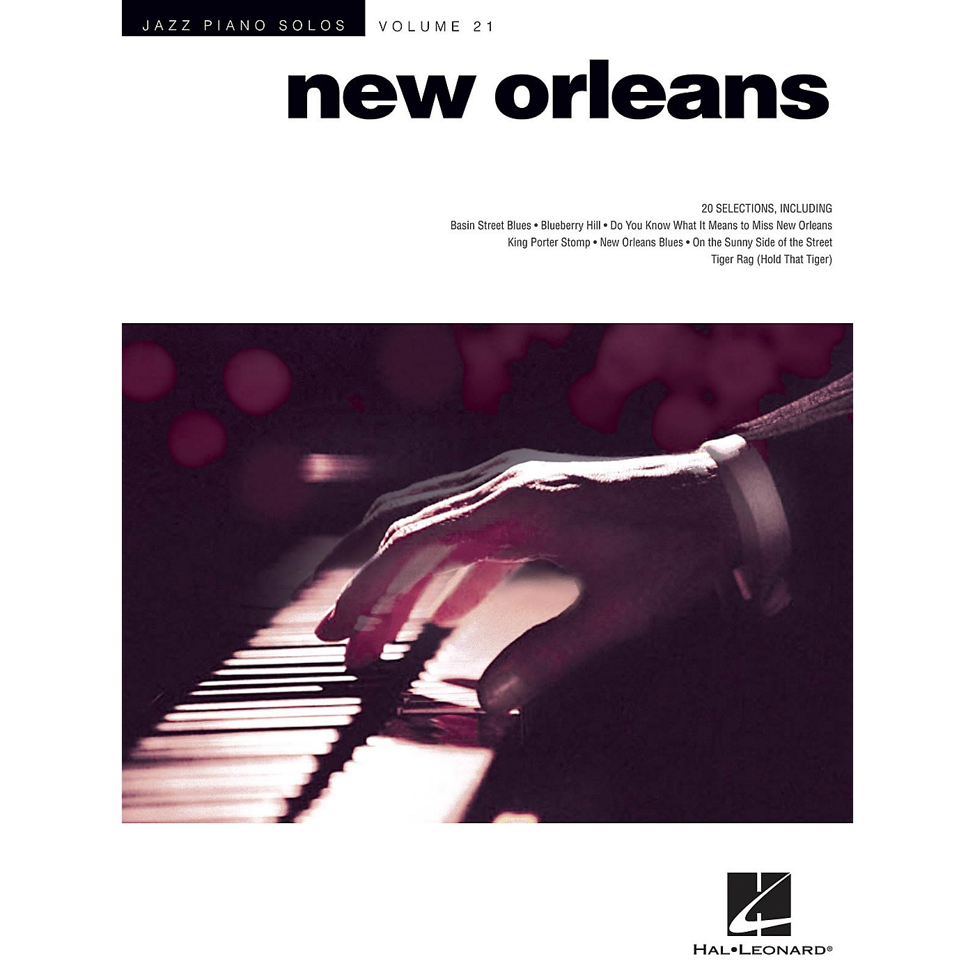 Hal Leonard New Orleans - Jazz Piano Solos Series Vol. 21 thumbnail
