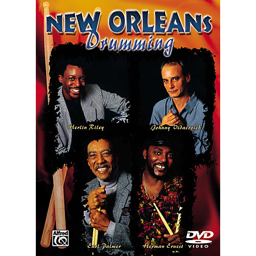 Alfred New Orleans Drumming Series (DVD)-thumbnail