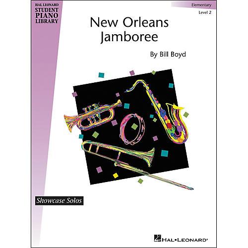 Hal Leonard New Orleans Jamboree - Hal Leonard Student Piano Library Showcase Solos Level 2 - Elementary by Bill Boyd thumbnail