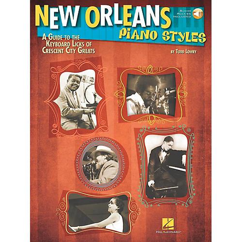 Hal Leonard New Orleans Piano Styles - Book/CD thumbnail