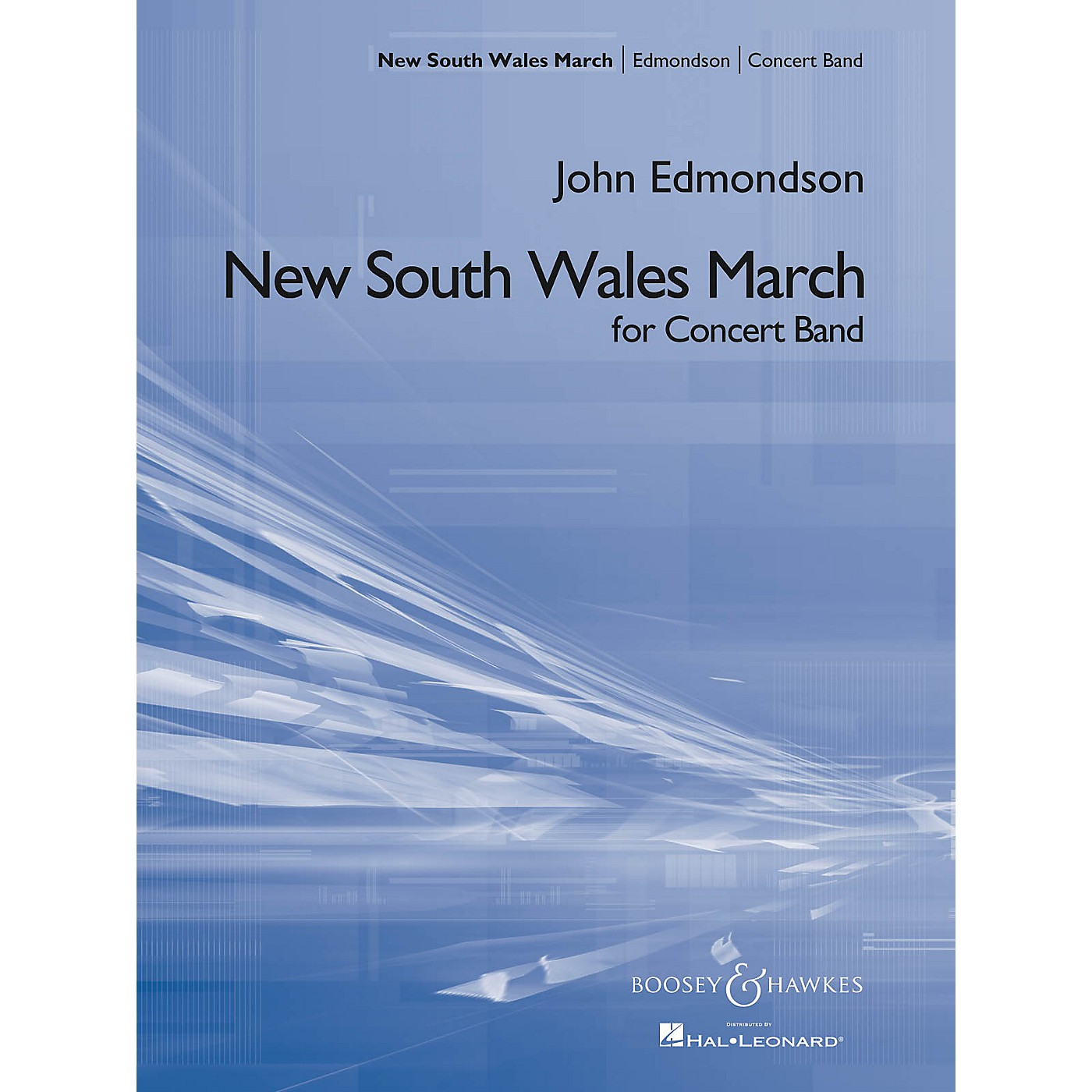 Boosey and Hawkes New South Wales March Concert Band Composed by John Edmondson thumbnail