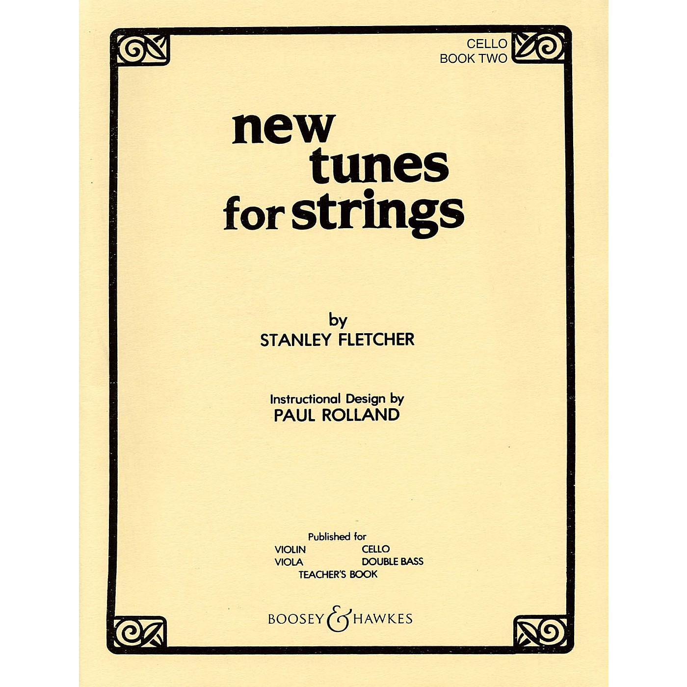 Boosey and Hawkes New Tunes for Strings - Book 2 (Cello) Boosey & Hawkes Chamber Music Series Softcover by Stanley Fletcher thumbnail