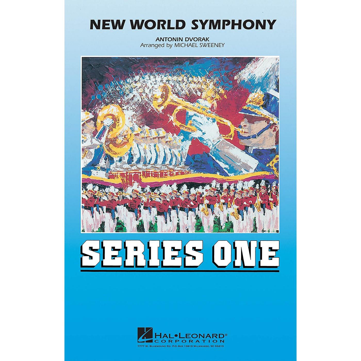 Hal Leonard New World Symphony Marching Band Level 2 Arranged by Michael Sweeney thumbnail