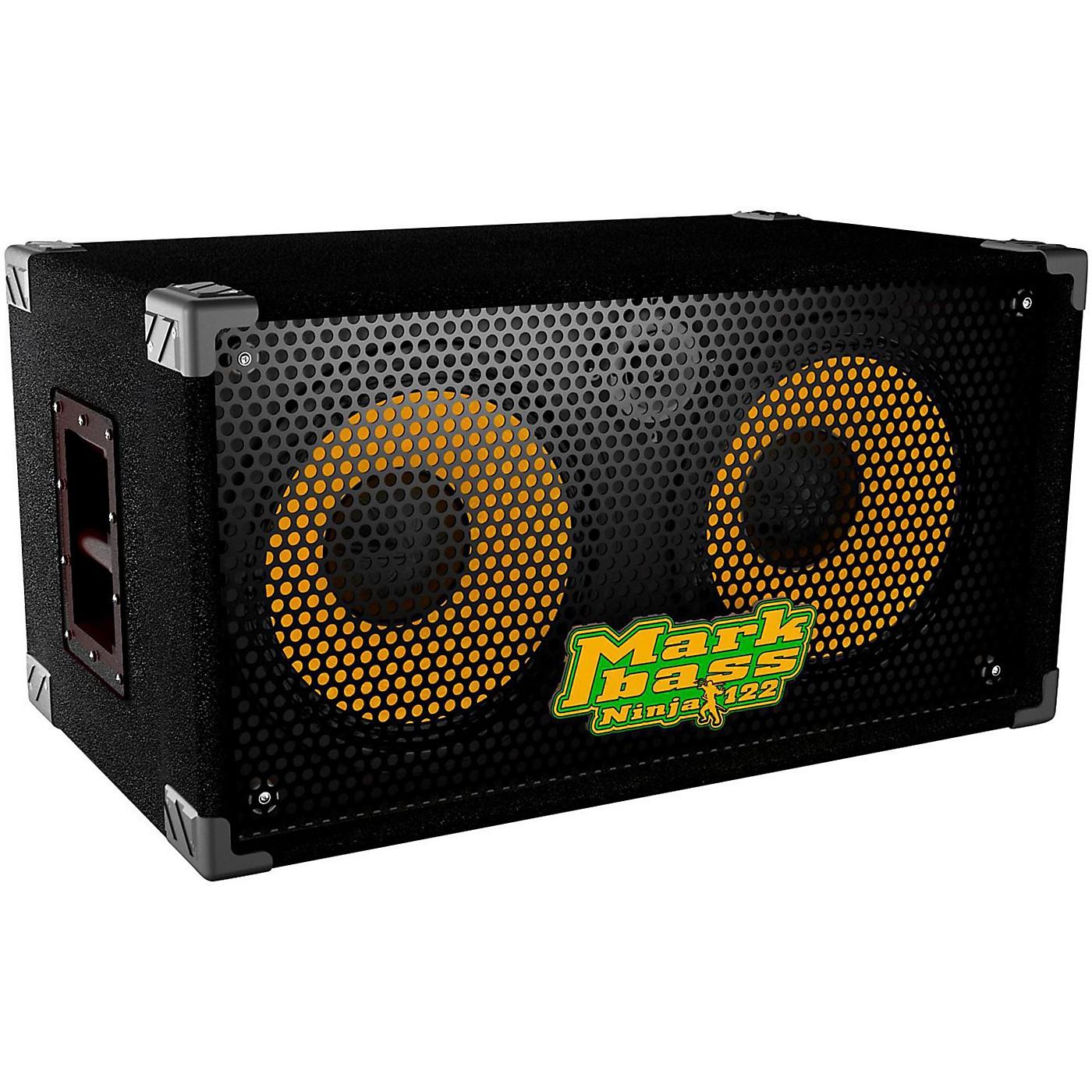 Markbass New York 122 Ninja 2x12 Richard Bona Signature Bass Speaker Cabinet thumbnail