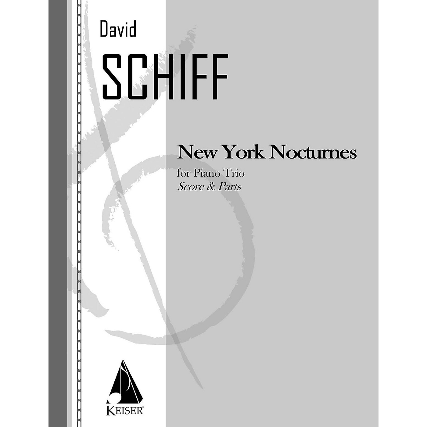 Lauren Keiser Music Publishing New York Nocturnes (Piano, Violin, Cello) LKM Music Series Composed by David Schiff thumbnail