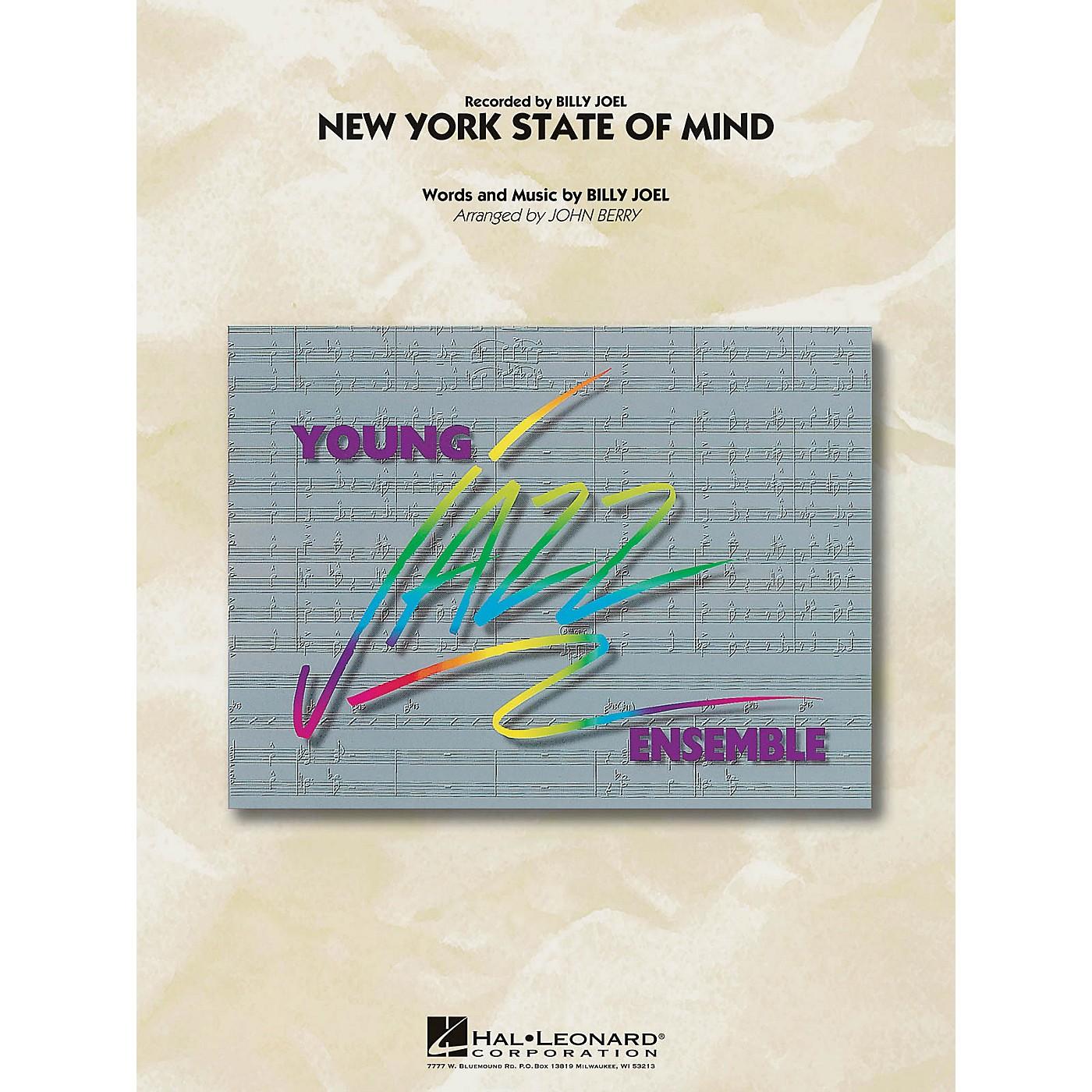 Hal Leonard New York State of Mind Jazz Band Level 3 Arranged by John Berry thumbnail