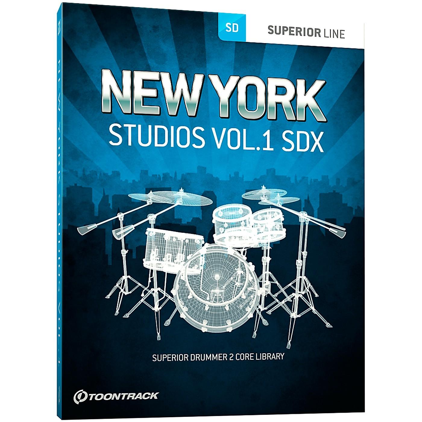 Toontrack New York Studios Volume 1 SDX thumbnail