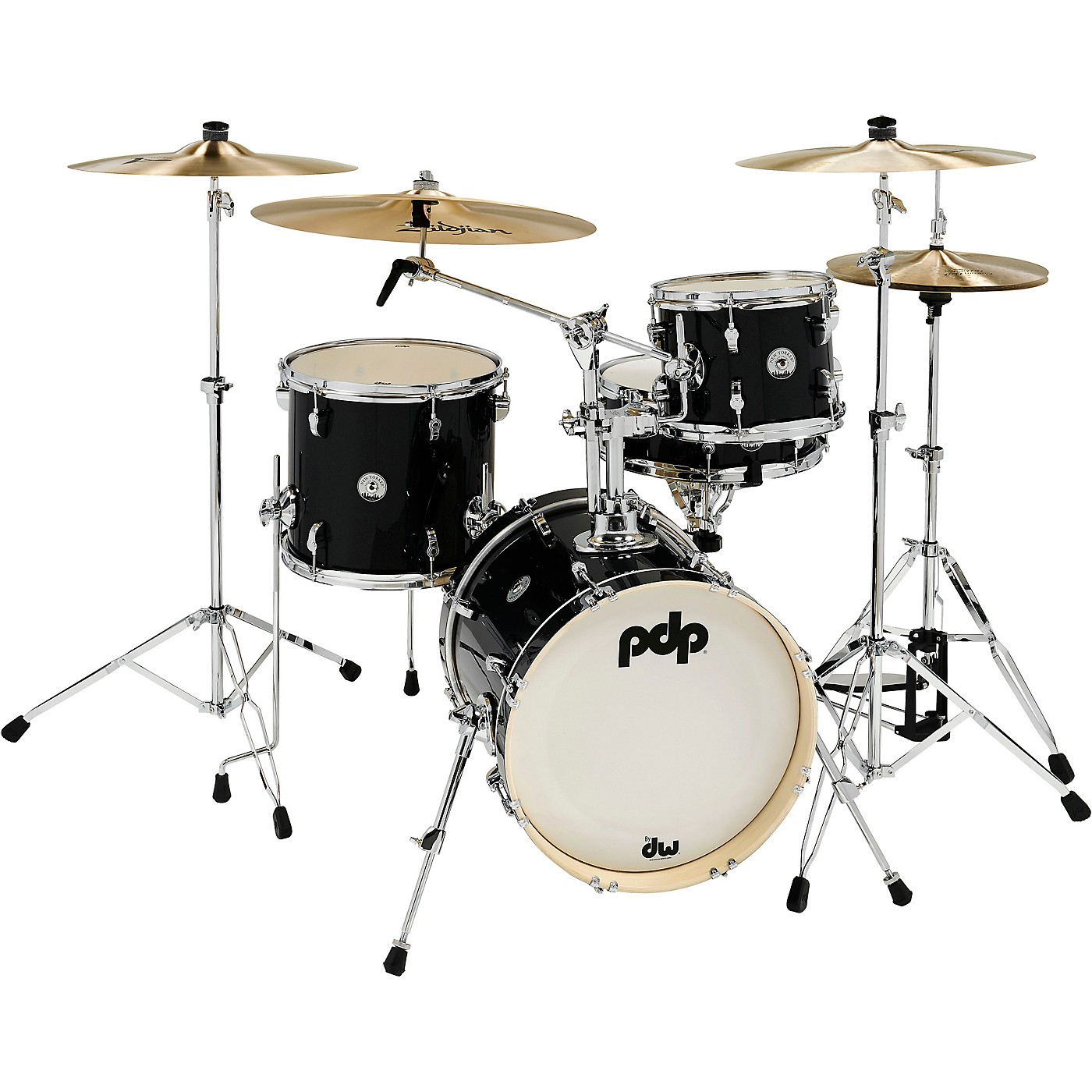 PDP by DW New Yorker 4-Piece Shell Pack w/ 16 in. Bass Drum thumbnail