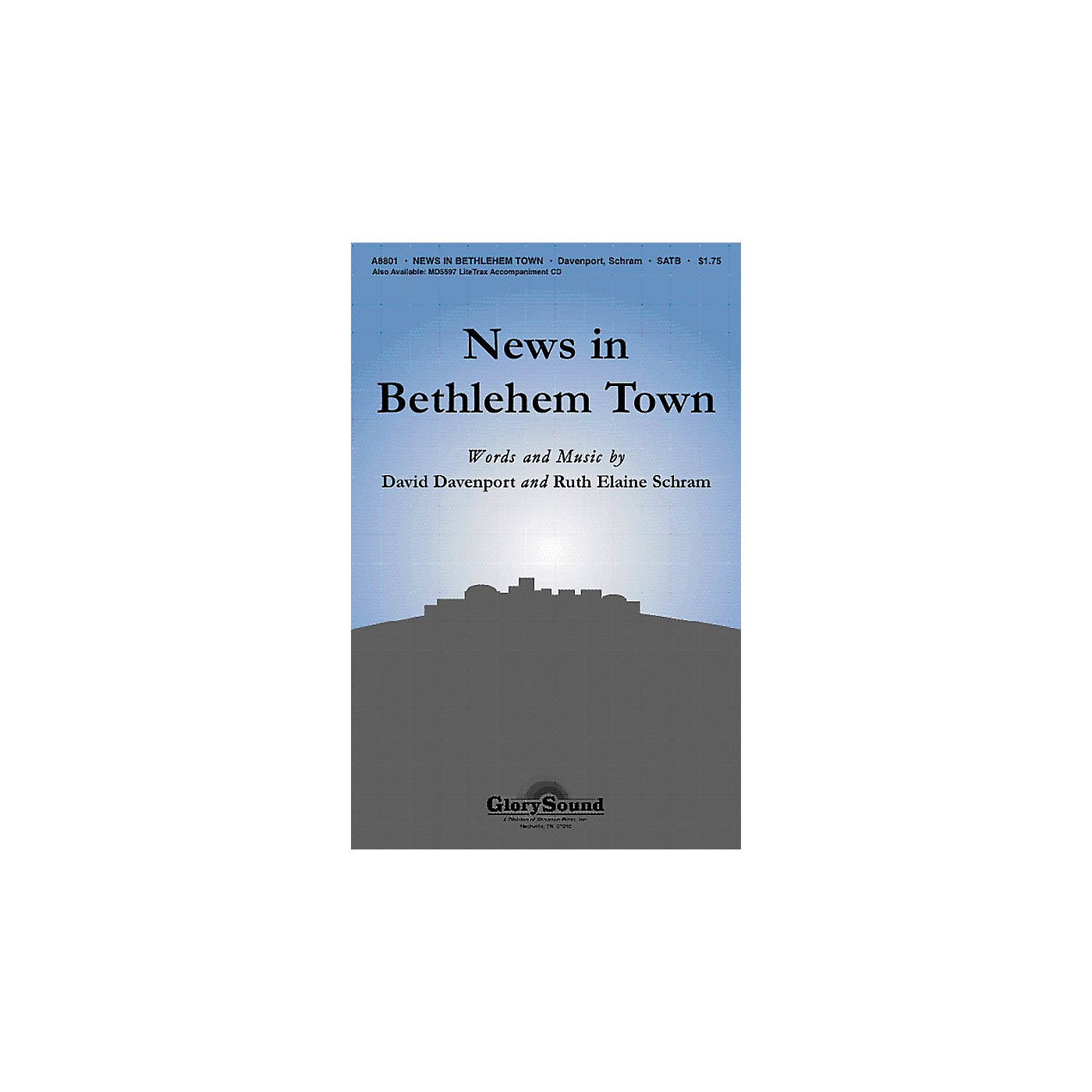 Shawnee Press News in Bethlehem Town SATB composed by David Davenport thumbnail