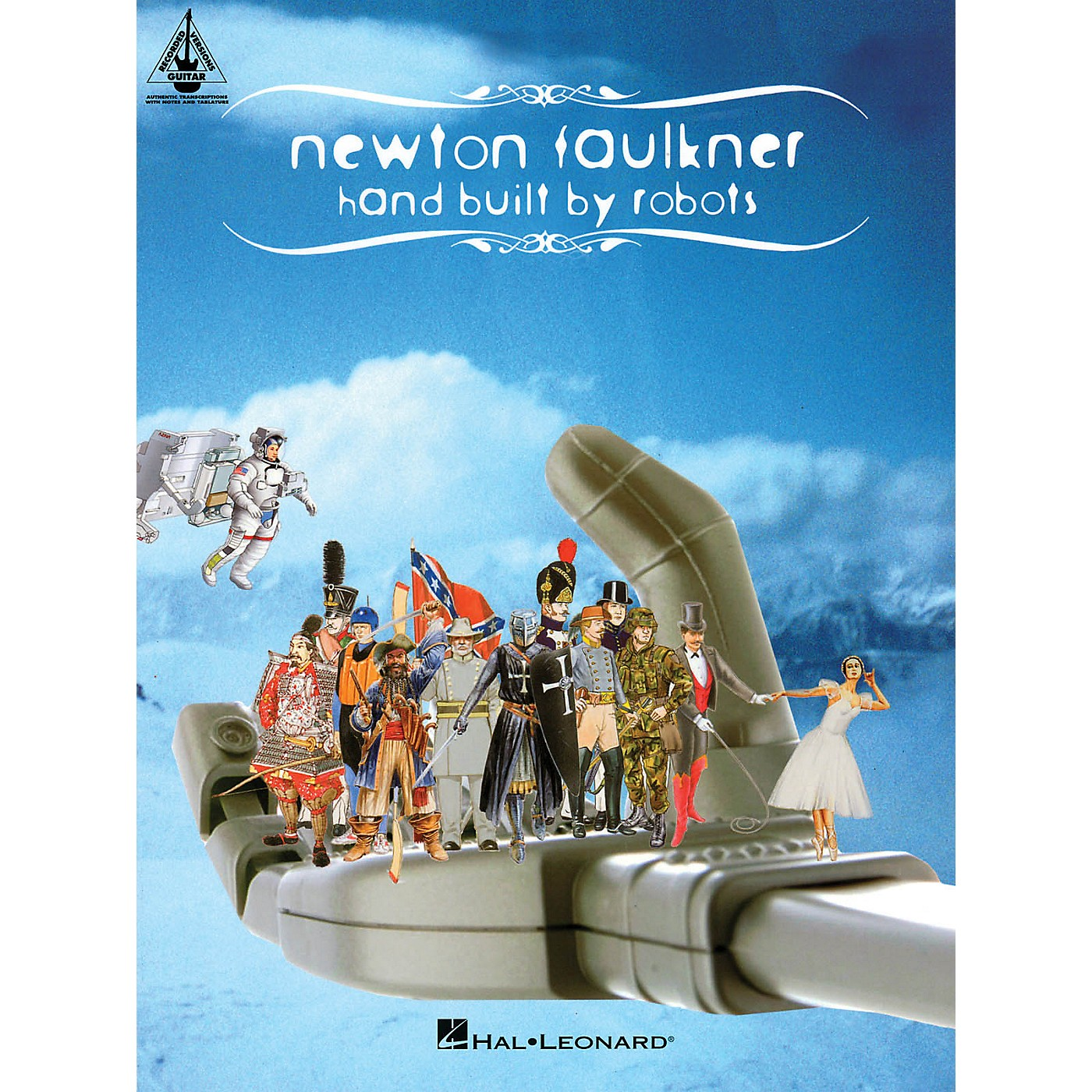 Hal Leonard Newton Faulkner - Hand Built by Robots Guitar Recorded Version Series Softcover by Newton Faulkner thumbnail