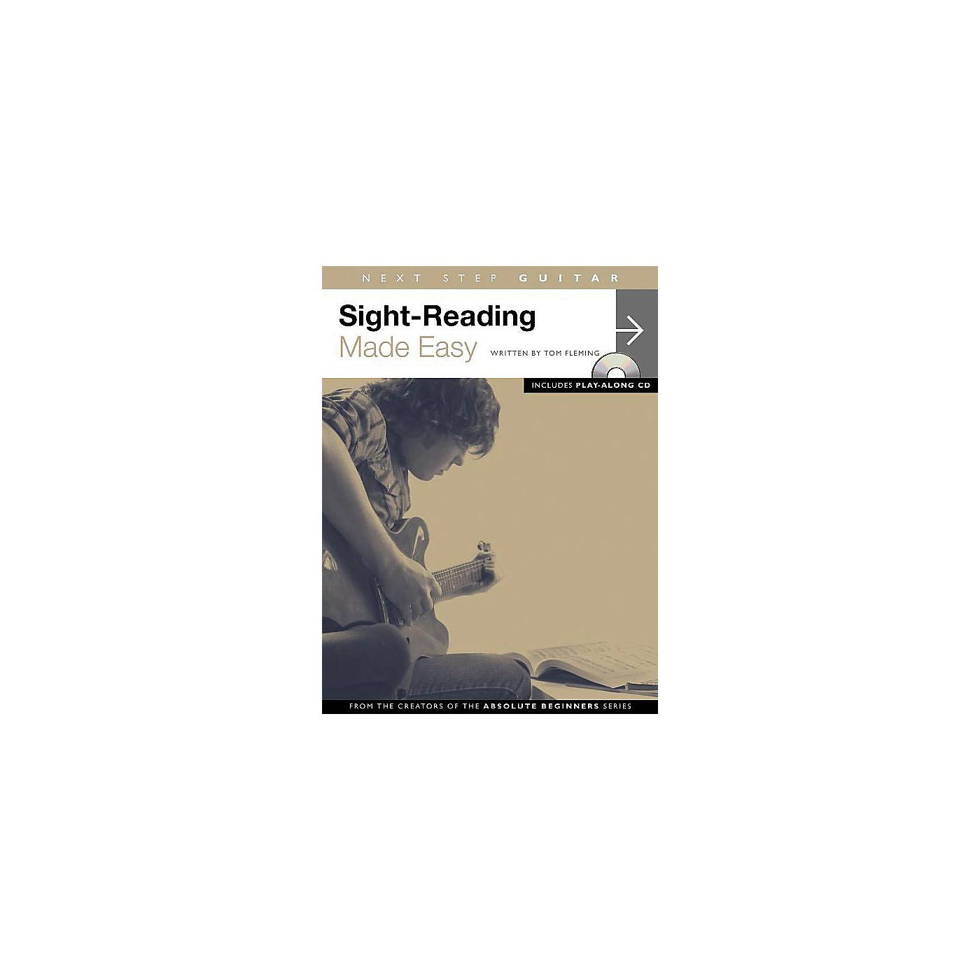 Music Sales Next Step Guitar - Sight-Reading Made Easy Music Sales America Series Softcover with CD by Tom Fleming thumbnail