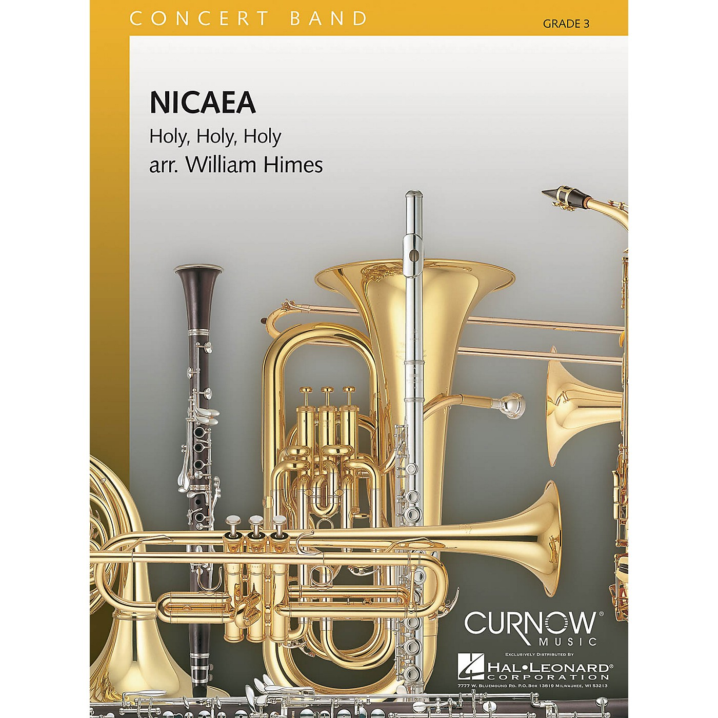 Curnow Music Nicaea (Grade 3 - Score Only) Concert Band Level 3 Composed by William Himes thumbnail