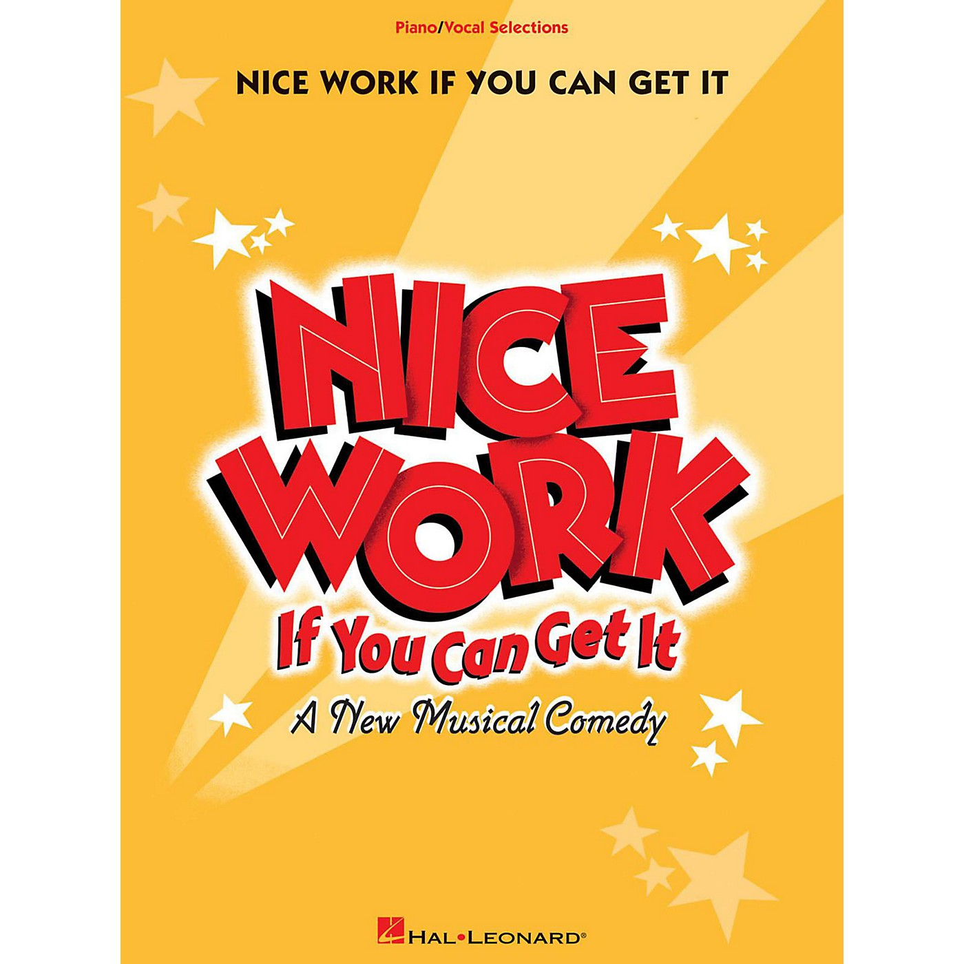 Hal Leonard Nice Work If You Can Get It - Piano/Vocal Selections thumbnail