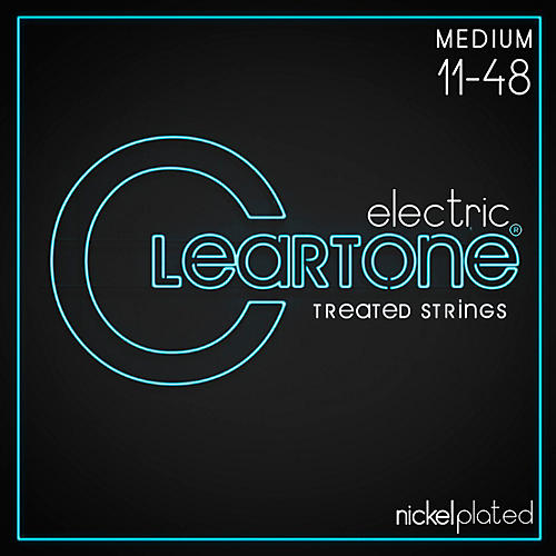 Cleartone Nickel-Plated Medium Electric Guitar Strings-thumbnail