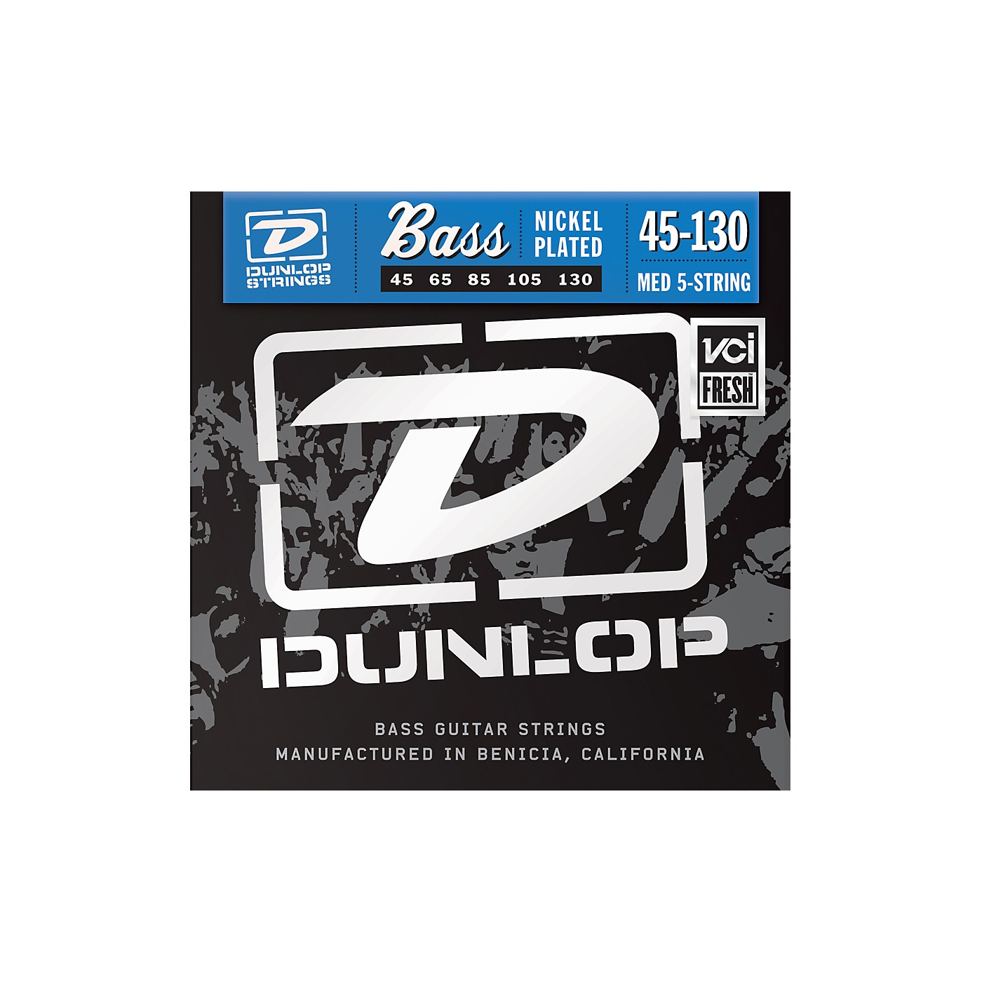 Dunlop Nickel Plated Steel Bass Strings - Medium 5-String with 130 thumbnail