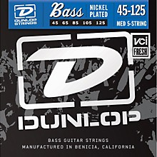 Dunlop Nickel Plated Steel Bass Strings - Medium 5-String