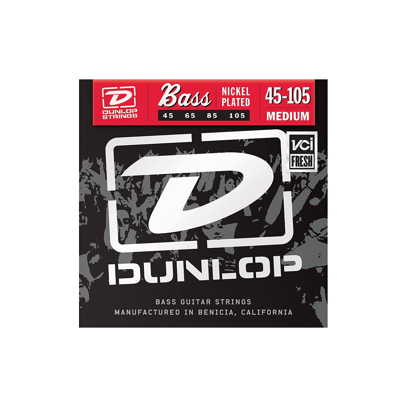 Dunlop Nickel Plated Steel Bass Strings - Medium thumbnail