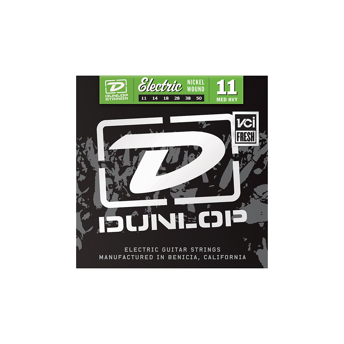 Dunlop Nickel Plated Steel Electric Guitar Strings - Medium Heavy thumbnail
