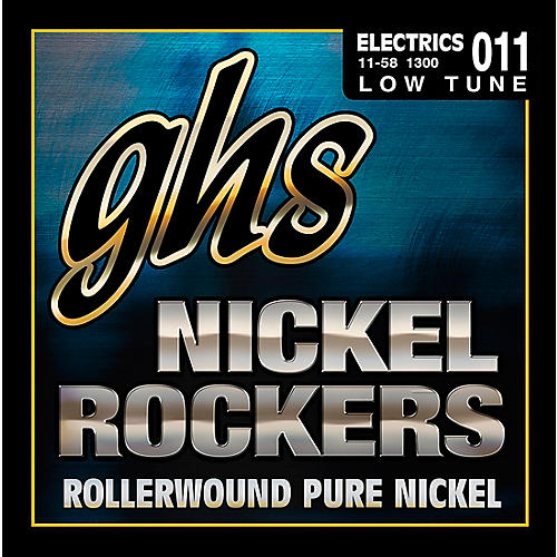 GHS Nickel Rockers Lo Tune SRV Set thumbnail