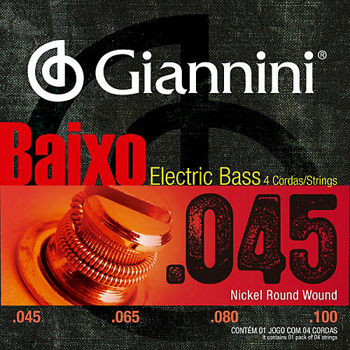 Giannini Nickel Round Wound Electric Bass Strings thumbnail