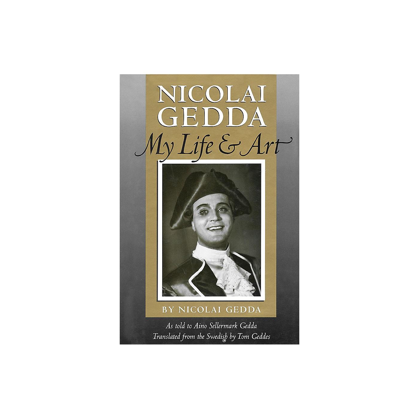 Amadeus Press Nicolai Gedda (My Life and Art) Amadeus Series Hardcover Written by Nicolai Gedda thumbnail