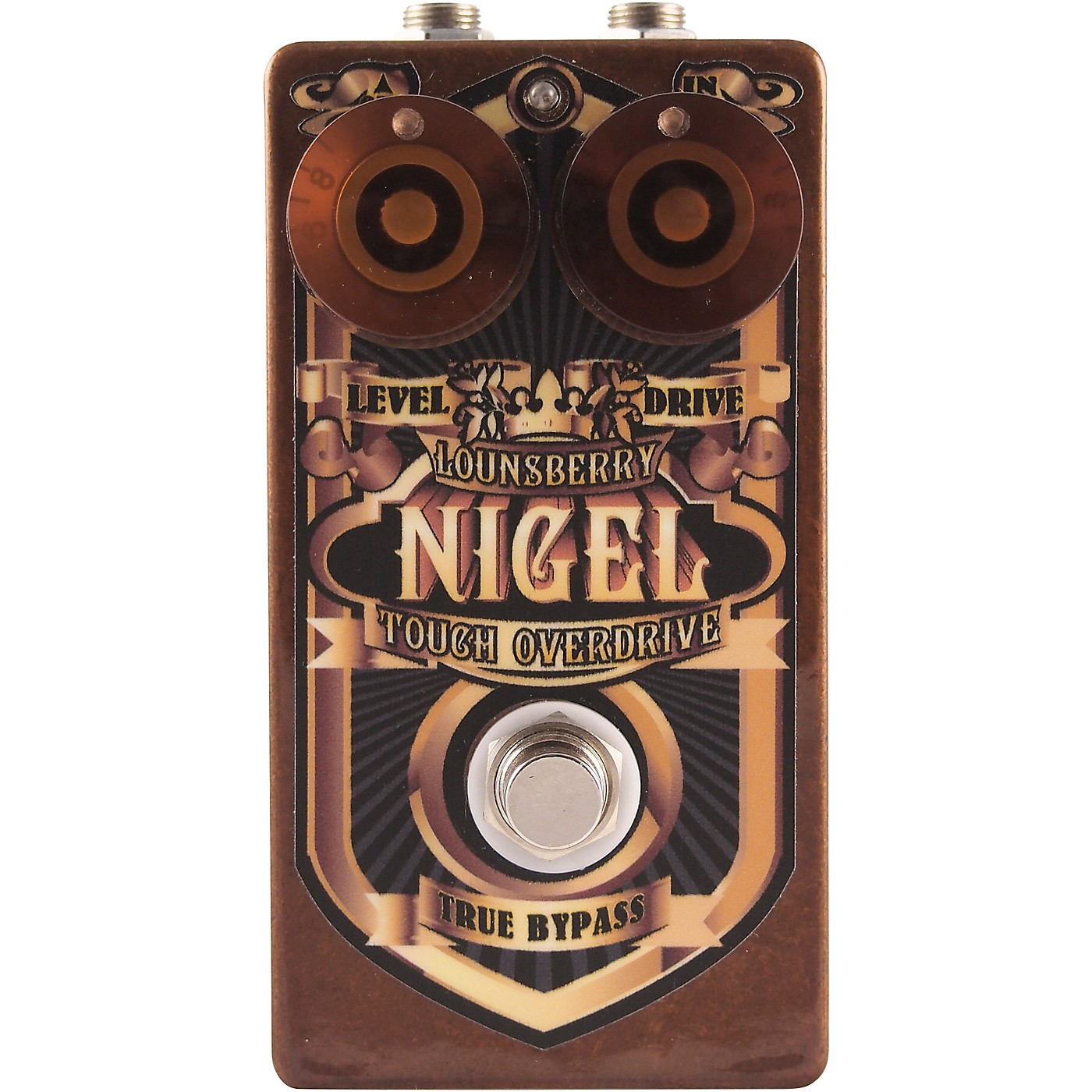 Lounsberry Pedals Nigel Overdrive Effects Pedal thumbnail