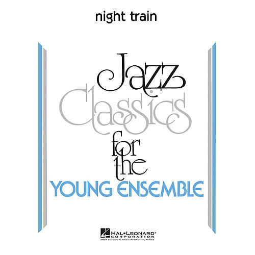 Hal Leonard Night Train Jazz Band Level 3 Arranged by John Higgins thumbnail