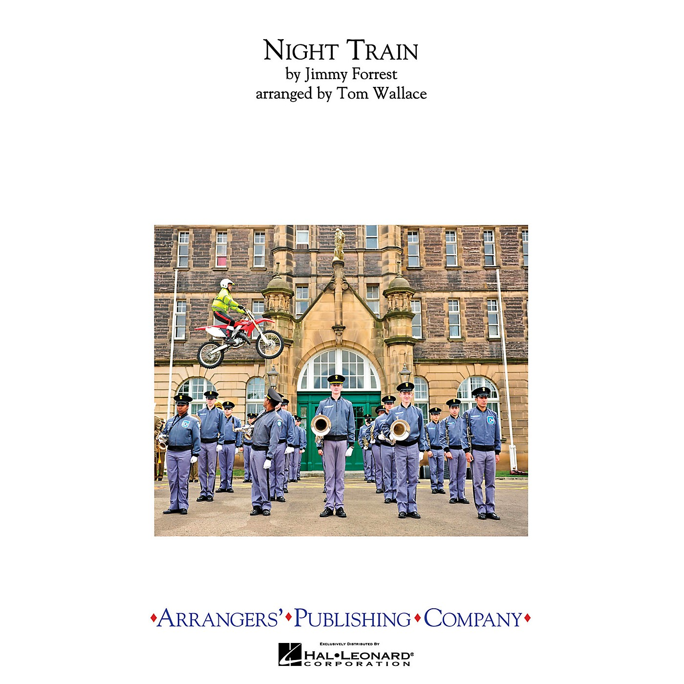 Arrangers Night Train Marching Band Level 3 Arranged by Tom Wallace thumbnail