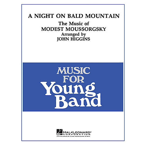Hal Leonard Night on Bald Mountain - Young Concert Band Level 3 arranged by John Higgins thumbnail