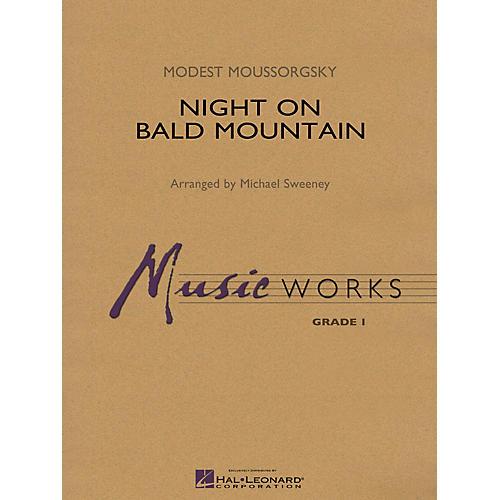 Hal Leonard Night on Bald Mountain Concert Band Level 1.5 Arranged by Michael Sweeney thumbnail