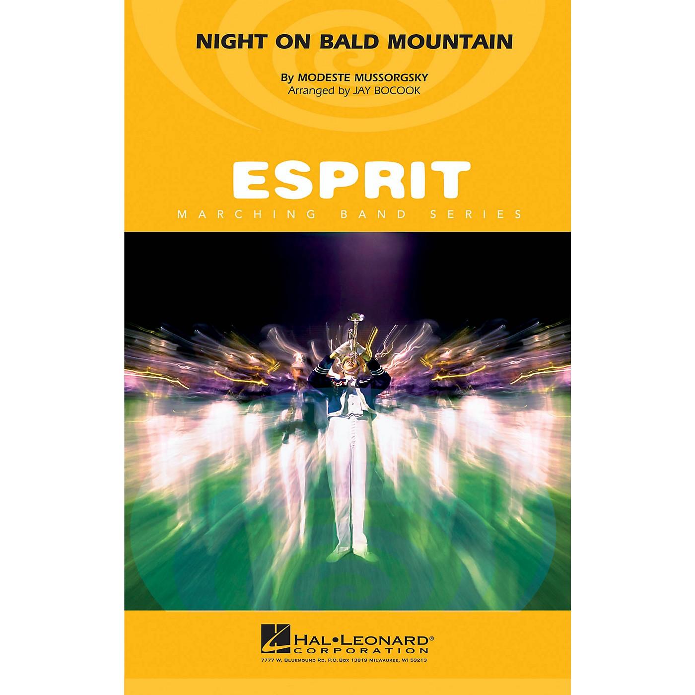 Hal Leonard Night on Bald Mountain Marching Band Level 3 Arranged by Jay Bocook thumbnail