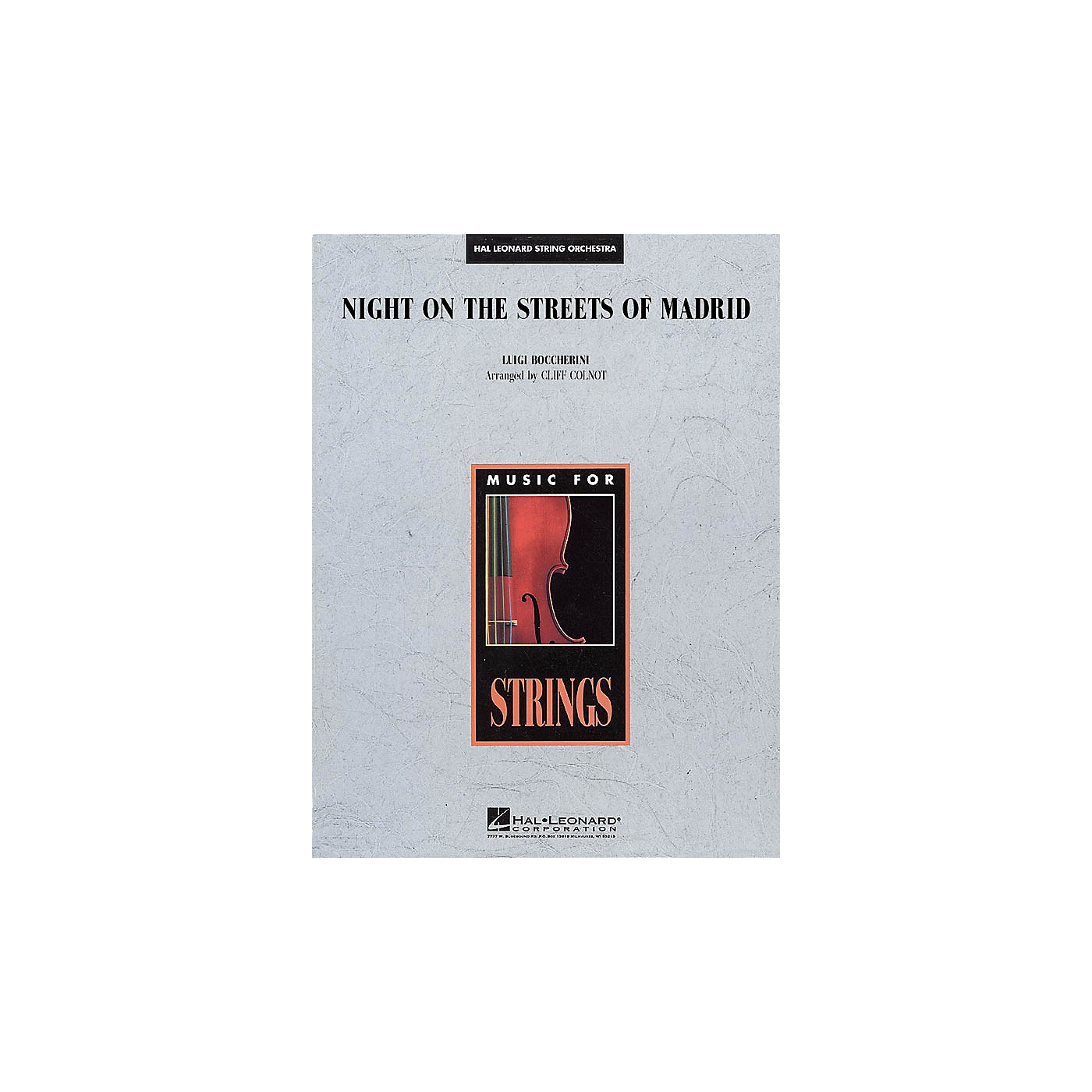 Hal Leonard Night on the Streets of Madrid Music for String Orchestra Series Arranged by Jamin Hoffman thumbnail