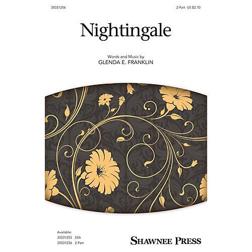 Shawnee Press Nightingale 2-Part composed by Glenda E. Franklin thumbnail