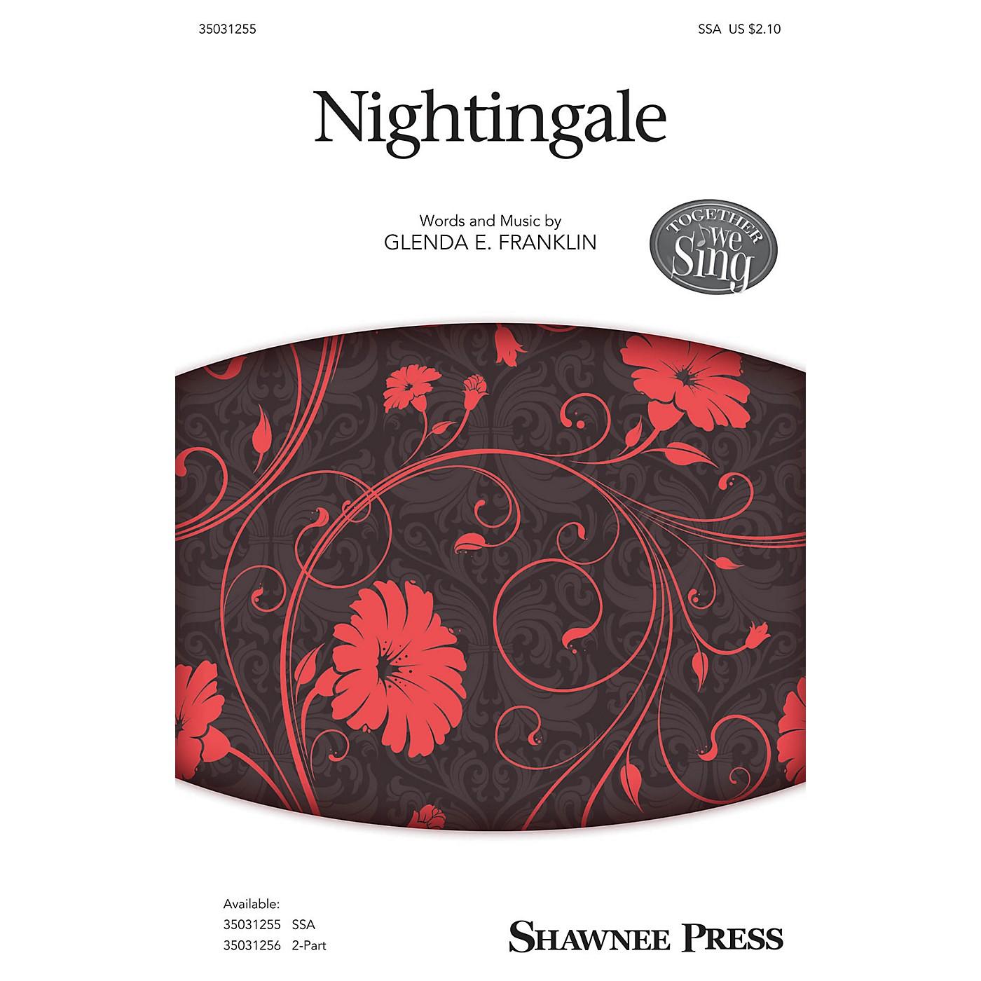 Shawnee Press Nightingale SSA composed by Glenda E. Franklin thumbnail