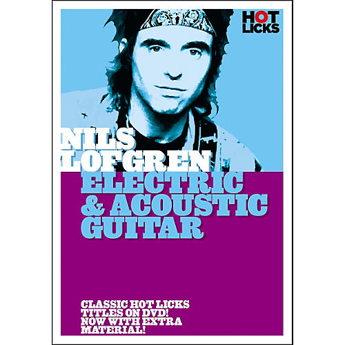 Hot Licks Nils Lofgren: Electric and Acoustic Guitar DVD thumbnail