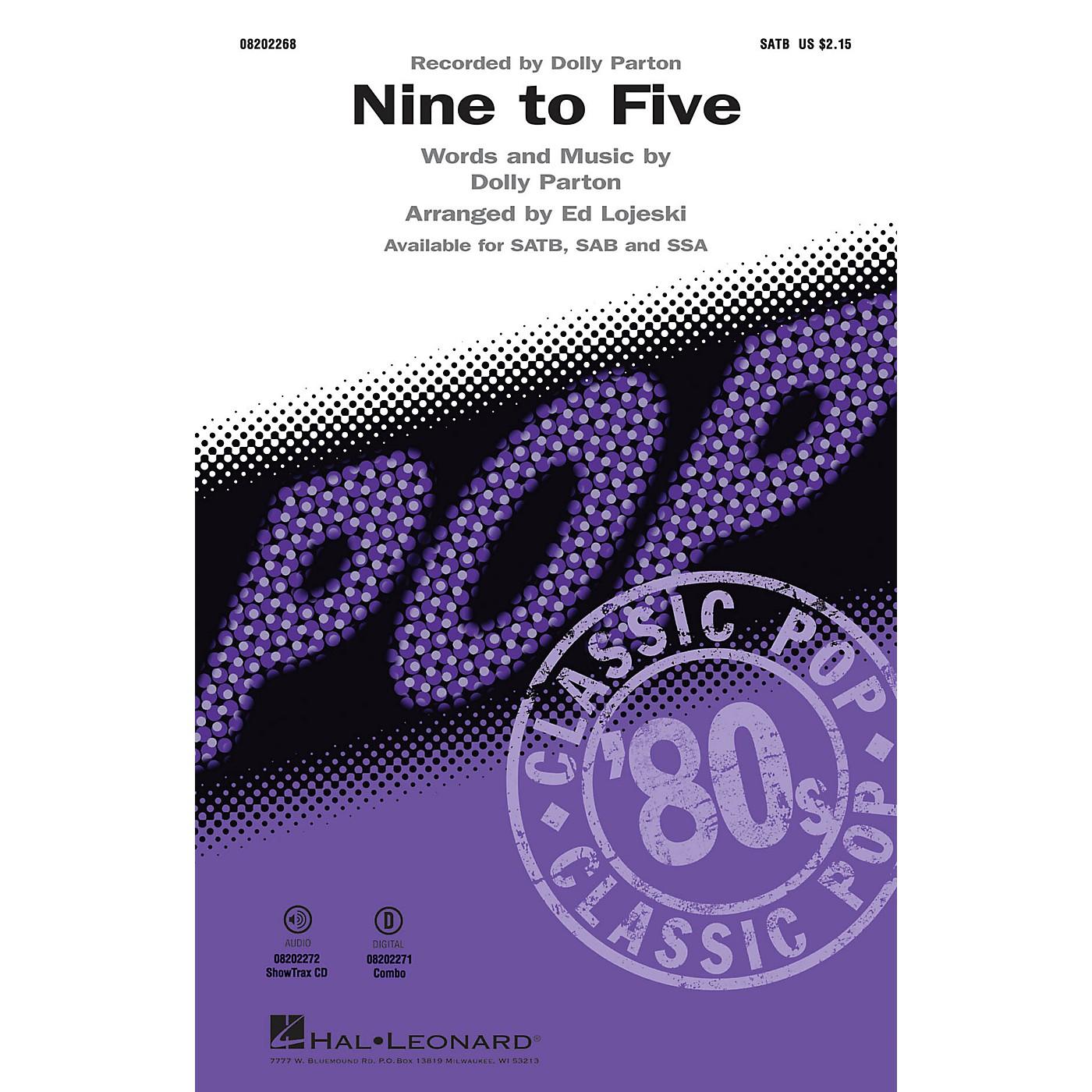 Hal Leonard Nine to Five ShowTrax CD Arranged by Ed Lojeski thumbnail