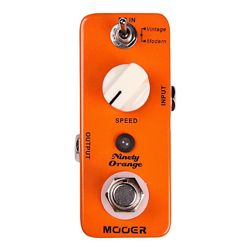 Mooer Ninety Orange Phaser Guitar Effects Pedal thumbnail